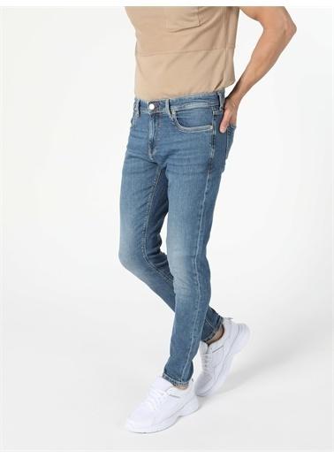 Colin's CL1056368_Q1.V1_DN41605 041 Danny Düşük Bel Dar Paça Slim Fit Jean Erkek Jean Pantolon Renkli